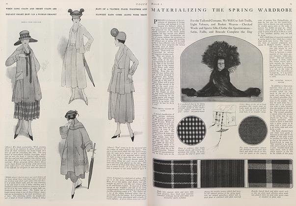Materializing the Spring Wardrobe