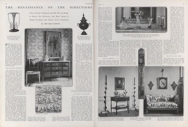 The Renaissance of the Directoire