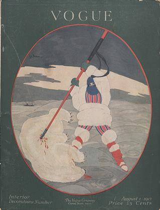 Cover for the August 1 1917 issue