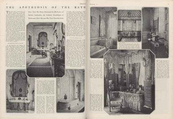 The Apotheosis of the Bath