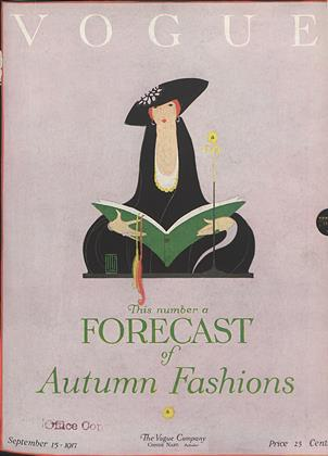 Cover for the September 15 1917 issue