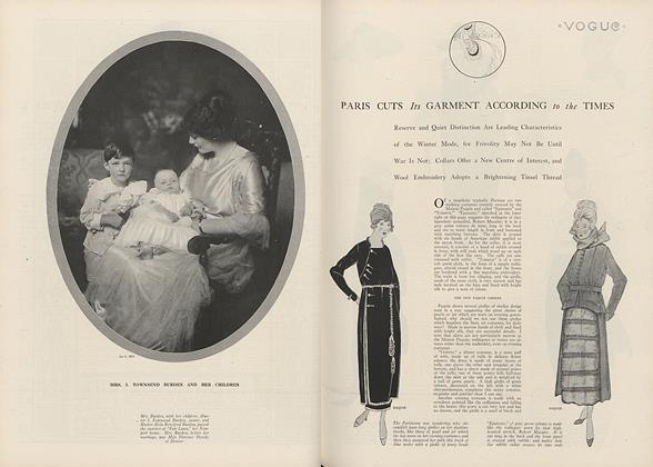 Paris Cuts Its Garment According to the Times
