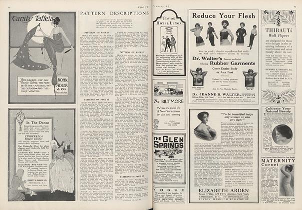 Pattern Descriptions