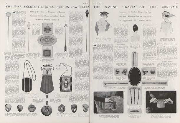 The War Exerts Its Influence on Jewellery
