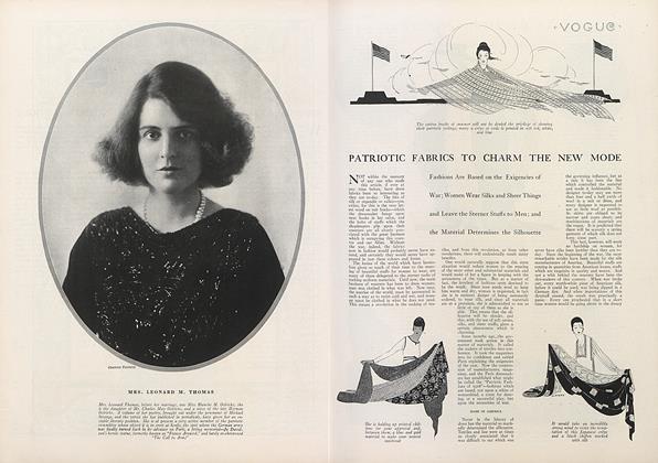 Patriotic Fabrics to Charm the New Mode