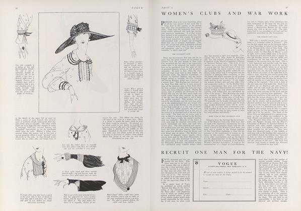 Women's Clubs and War Work