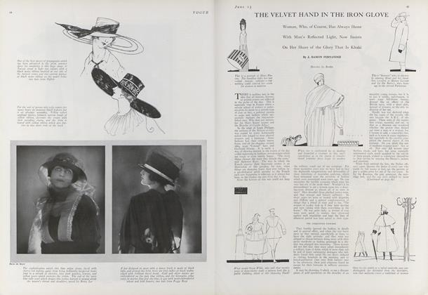 The Velvet Hand in the Iron Glove