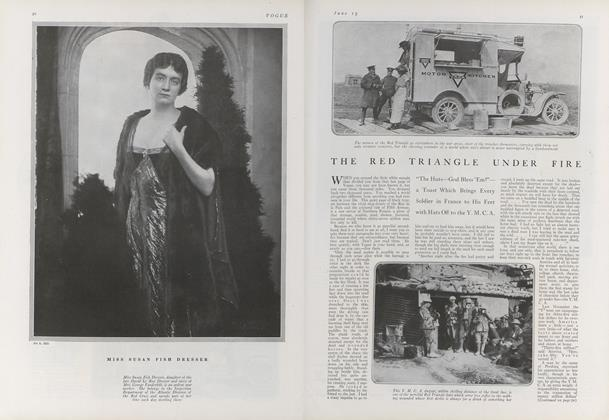 Article Preview: The Red Triangle Under Fire, June 15 1918 | Vogue
