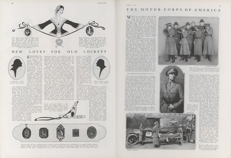The Motor Corps of America
