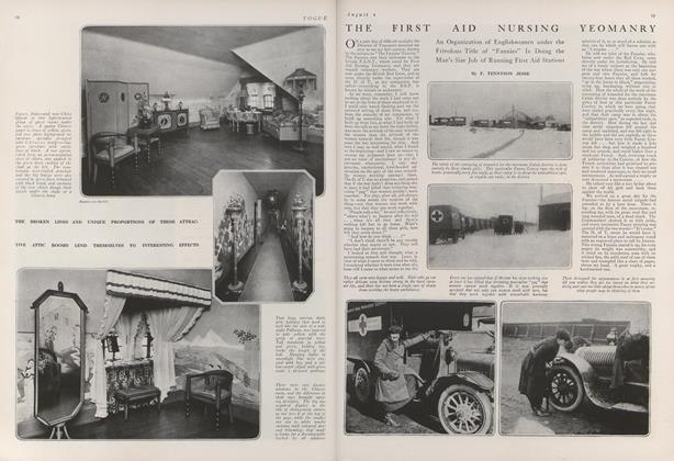 The First Aid Nursing Yeomanry