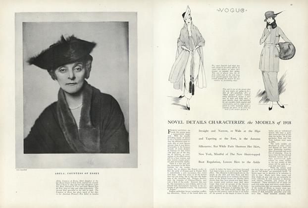 Novel Details Characterize the Models of 1918