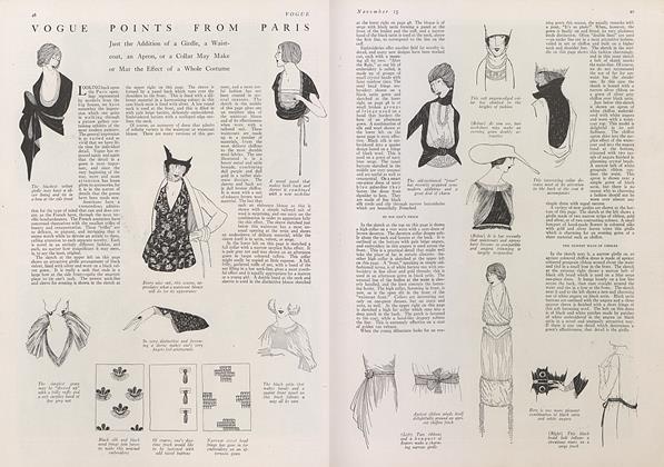 Vogue Points from Paris