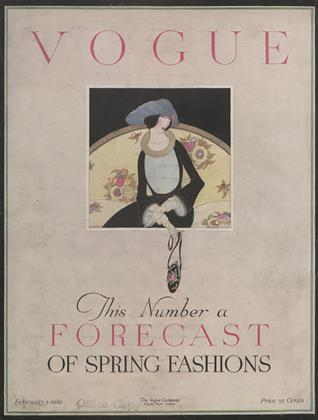 Cover for the February 1 1919 issue