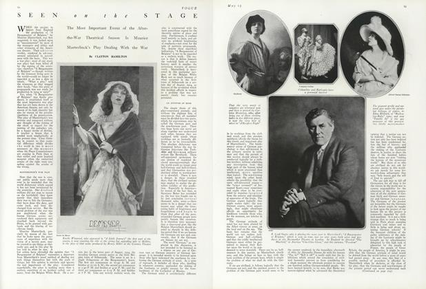 Article Preview: , May 15 1919 | Vogue