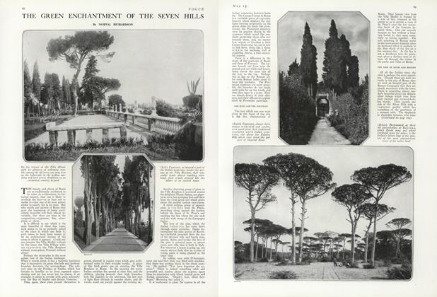 Article Preview: The Green Enchantment of the Seven Hills, May 15 1919 | Vogue
