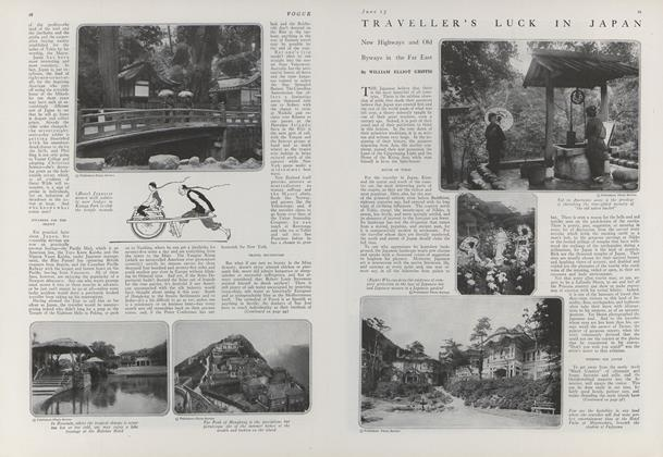 Article Preview: Traveller's Luck in Japan, June 15 1919 | Vogue