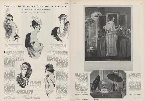 The Head-Dress Makes the Costume Brilliant