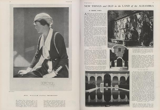 Article Preview: New Things and Old in the Land of the Alhambra, September 1 1919 | Vogue