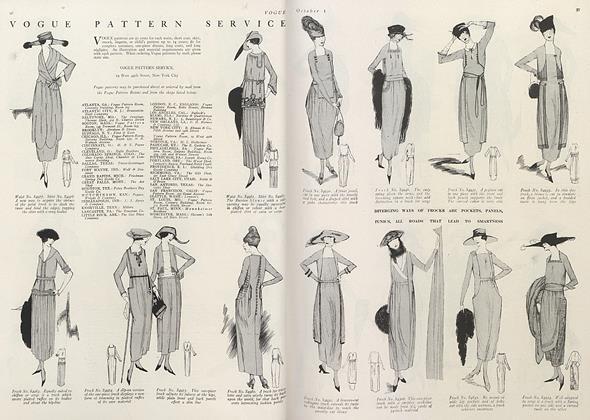 Vogue Pattern Service