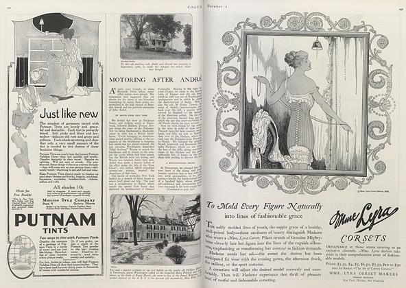 Article Preview: Motoring After Andre, October 1 1919 | Vogue