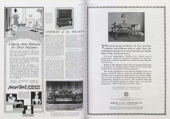 Antiques of the Stuarts