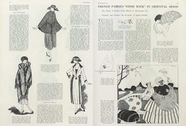 """French Fabrics """"Come Back"""" in Oriental Mood"""