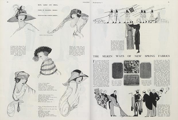 The Silken Ways of New Spring Fabrics