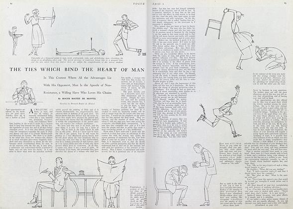Article Preview: The Ties Which Bind the Heart of Man, April 1 1920 | Vogue
