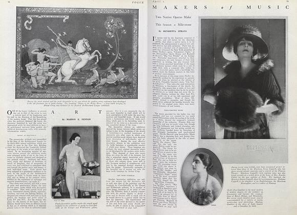 Article Preview: , April 1 1920 | Vogue