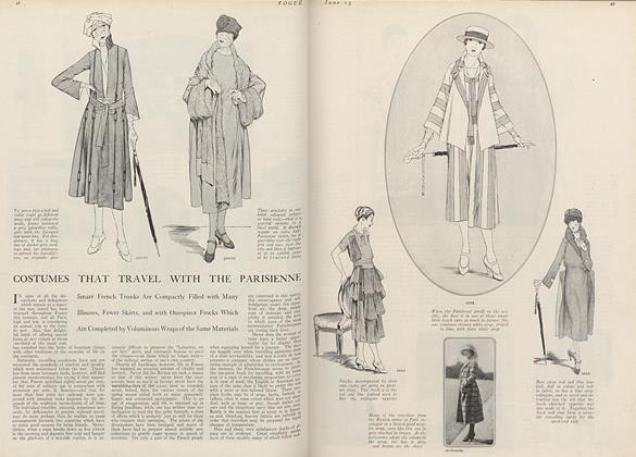 Costumes that Travel with the Parisienne