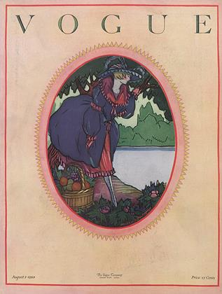 Cover for the August 1 1920 issue