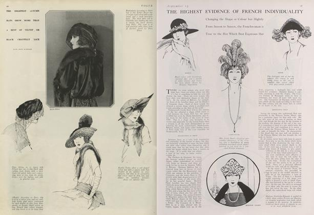 Article Preview: The Highest Evidence of French Individuality, September 15 1920 | Vogue