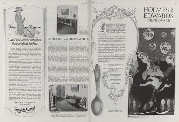 Article Preview: Sheraton and Heppelwhite, September 15 1920 | Vogue