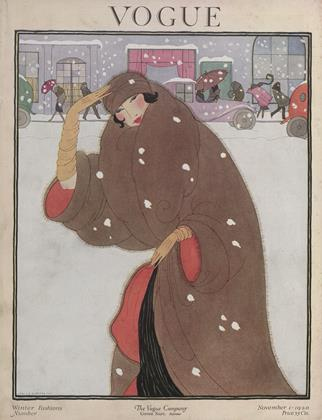 Cover for the November 1 1920 issue