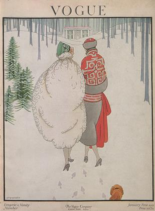 Cover for the January 1 1921 issue