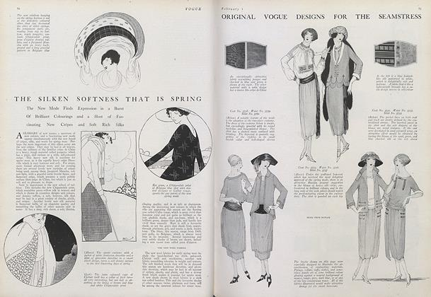 Original Vogue Designs for the Seamstress
