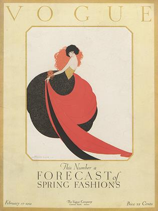 Cover for the February 15 1921 issue