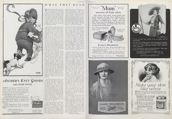 Article Preview: , March 1 1921 | Vogue