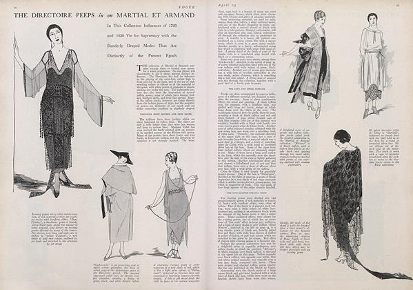 The Directoire Peeps in on Martial et Armand