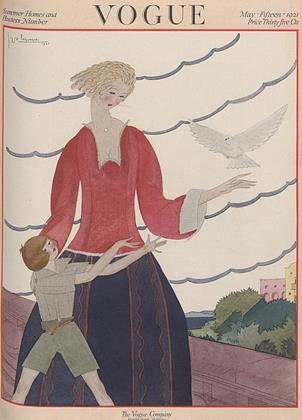 Cover for the May 15 1921 issue
