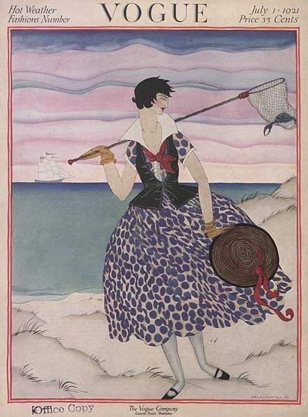 Issue: - July 1 1921   Vogue