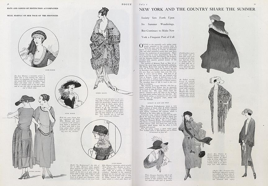 New York and the Country Share the Summer