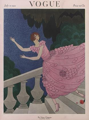 Cover for the July 15 1921 issue