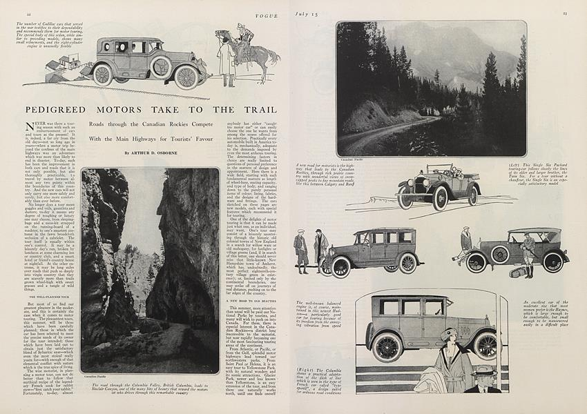 Pedigreed Motors Take to the Trail