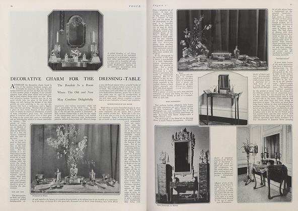 Decorative Charm for the Dressing-Table