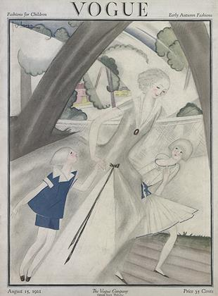 Cover for the August 15 1921 issue