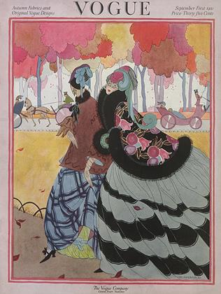 Cover for the September 1 1921 issue