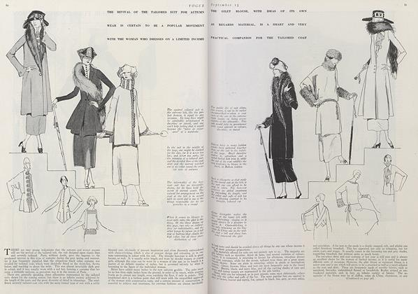 Article Preview: Smart Fashions for Limited Incomes, September 15 1921 | Vogue