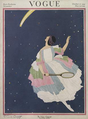 Oct. 15th, 1921 | Vogue