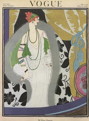 November 1, 1921 | Vogue